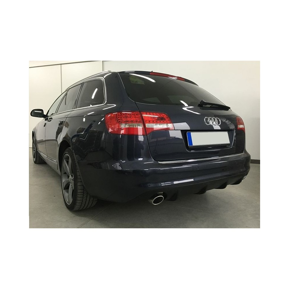 Diffuseur arriere Audi A6 C6 RS6 Look (1+1) 08-11