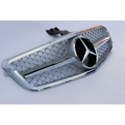 Calandre Mercedes Classe C Amg Design W204 Chrome 07-14