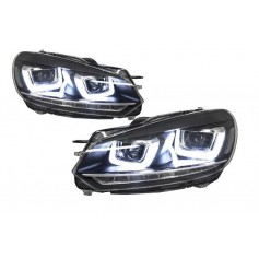 2x Phares LED Golf VI 6 look Golf 7 LED U 08-12
