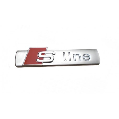 3 x logo S Line Chrome