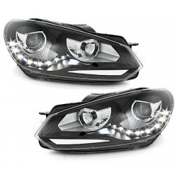 2x Phares LED Golf VI look Xenon GTD GTI