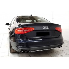 Diffuseur arriere Audi A4 B8 S4 look 12-15 (2+2)