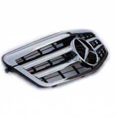 Calandre Mercedes Classe E Amg Design Chrome W212 09-13