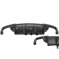 Diffuseur arriere BMW F10 F11 M Performance Carbone 10-16 (2+2)