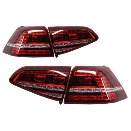 2x Feux arrieres LED GTI R-Design Golf VII