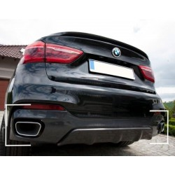 Diffuseur arriere BMW X6 F16 M Performance (1+1)