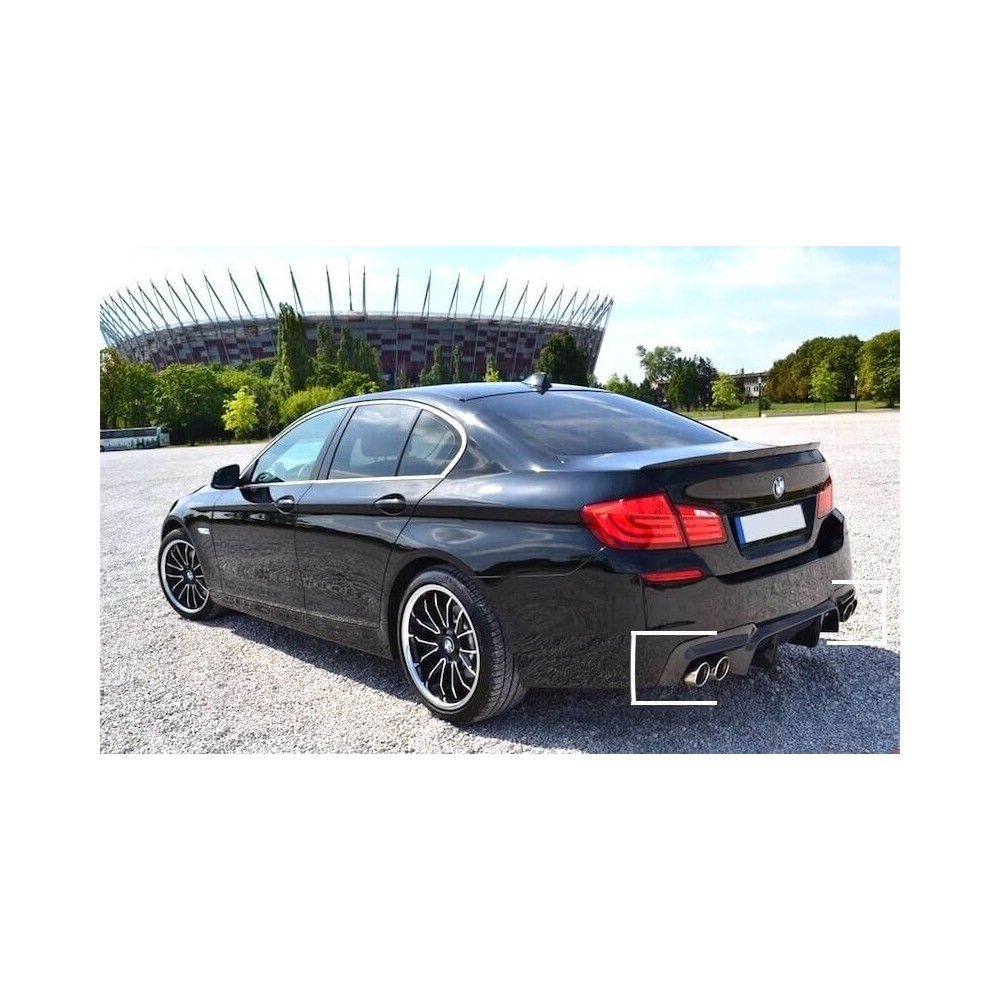 Diffuseur arriere BMW serie 5 F10/F11 (2+2) look M5 10-17