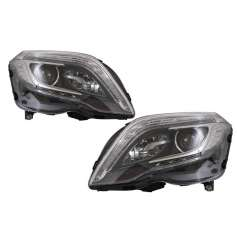 2x Phares Mercedes GLK Look Xenon LED 13-15
