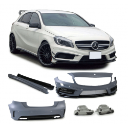 Kit Carrosserie Look A45 AMG Mercedes Classe A W176 12+