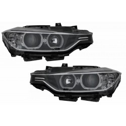 2x Phares avants LED BMW Serie 3 F30 F31 Look Xenon 11-15