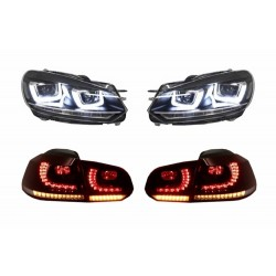 Pack Feux + Phares Vw Golf VI 6 LED 08-13