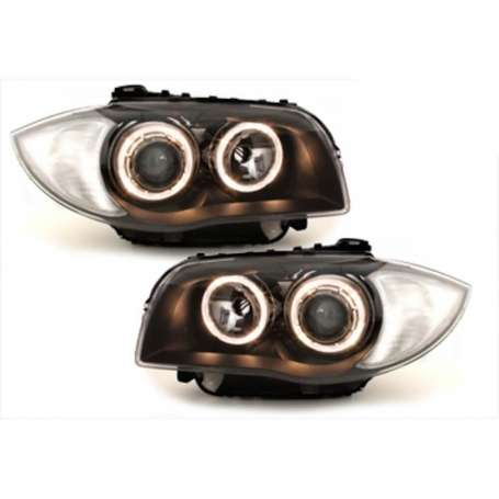 2x Phares avants BMW Serie 1 E89 04-07 Chrome