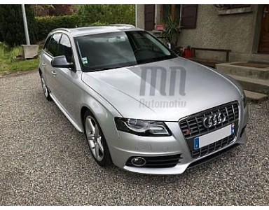 Modification d'une Audi A4 Avant en S4